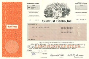 SunTrust Banks, Inc. - SOLD