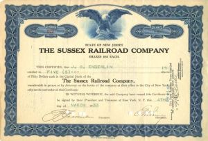 Sussex Railroad Company