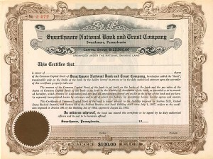 Swarthmore National Bank and Trust Company