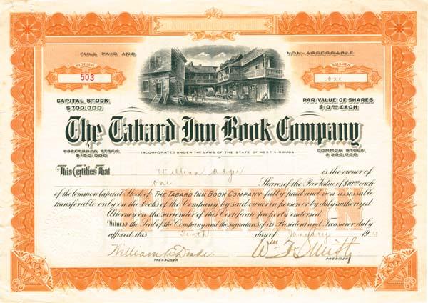 Tabard Inn Book Company