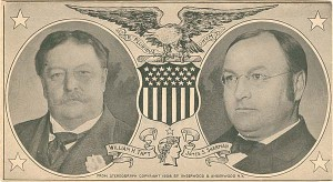 William H. Taft & James S. Sherman Envelope