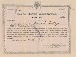Taxco Mining Association of Mexico