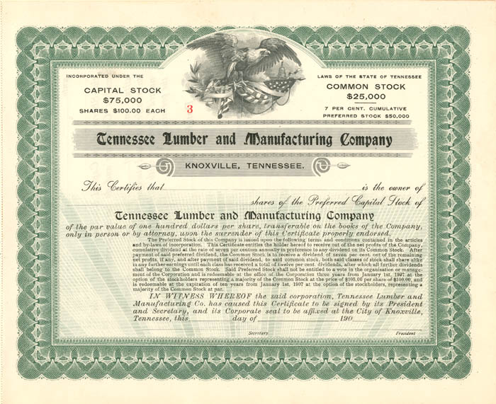 Tennessee Lumber and Manufacturing Company