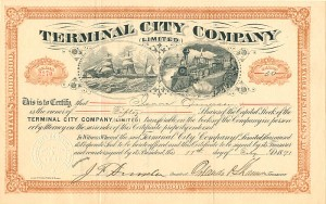 Terminal City Company Limited - SOLD