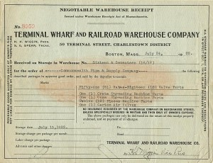 Terminal Wharf and Railroad Warehouse Company