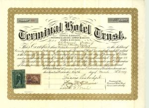Terminal Hotel Trust with Revenues