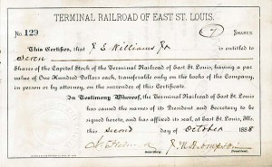 Jay Gould - Terminal Railroad of East St. Louis