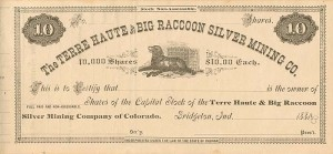 Terre Haute and Big Raccoon Silver Mining Co.