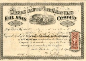 Terre Haute and Indianapolis Railroad Company