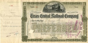 Texas Central Railroad Company