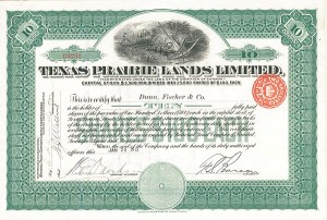 Texas Prairie Lands Limited