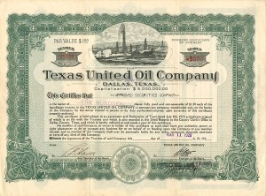 Texas United Oil Company - SOLD