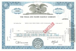 Texas and Pacific Railway Company