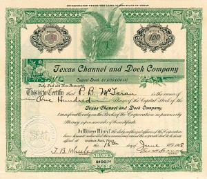 Texas Channel & Dock Company - SOLD