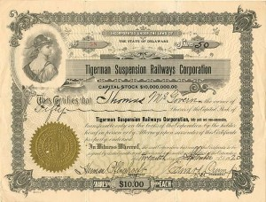 Tigerman Suspension Railways Corporation