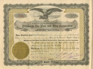 Pittsburgh Tin Plate and Steel Corporation