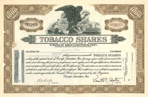 Tobacco Shares