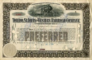 Toledo, St. Louis and Western Railroad Company - SOLD