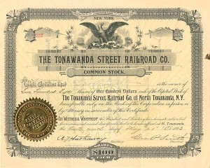 Tonawanda Street Railroad Co. - SOLD