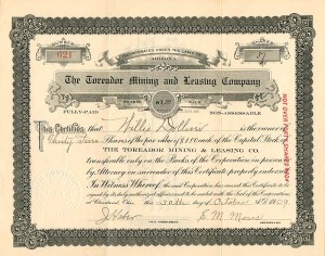 Toreador Mining and Leasing Company