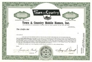 Town and Country Mobile Homes, Inc.