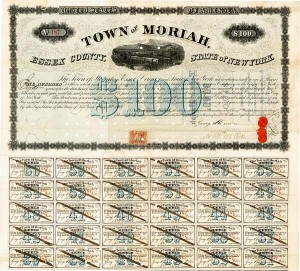Whitehall & Plattsburgh Railroad - Town of Moriah