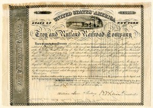 Troy and Rutland Railroad Company