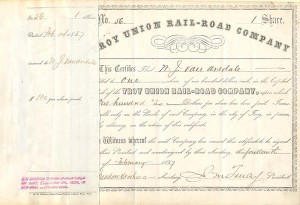 Troy Union Rail-Road Company