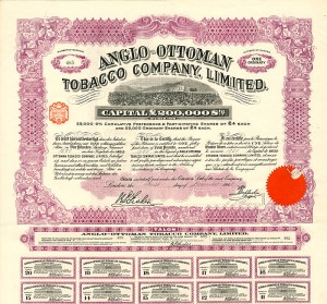 Anglo-Ottoman Tobacco Company, Limited