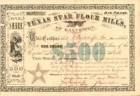 Texas Star Flour Mills, of Galveston