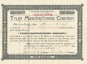 Tyler Manufacturing Company