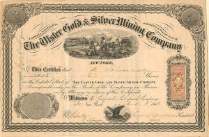 Ulster Gold and Silver Mining Company - SOLD