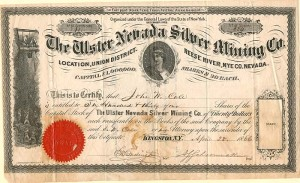 Ulster Nevada Silver Mining Co. - SOLD
