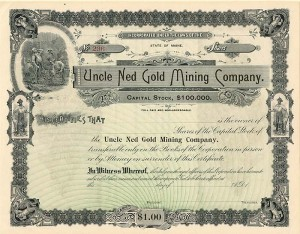 Uncle Ned Gold Mining Company