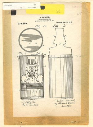 """Uncle Sam"" Toy U.S. Patent"