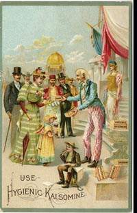 Uncle Sam Postcard Set - 1906 - SOLD