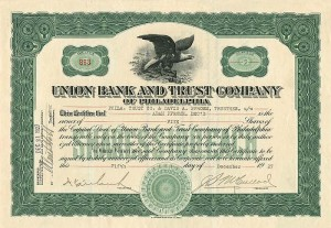 Union Bank and Trust Company of Philadelphia