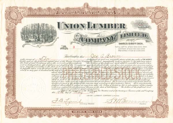 Union Lumber Company, Limited