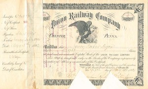 Union Railway Company - SOLD