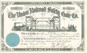 Union Railroad Safety Gate Co - SOLD