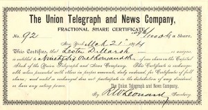 Union Telegraph and News Company
