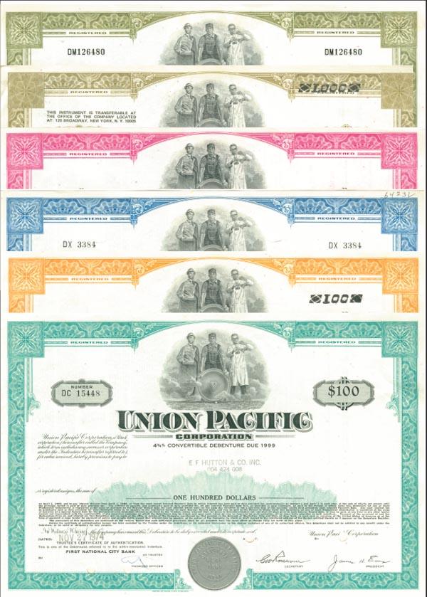 Union Pacific Corporation - Bond