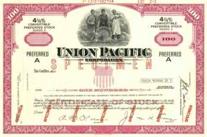 Union Pacific - Specimen - SOLD