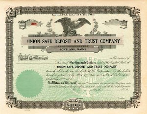 Union Safe Deposit and Trust Company