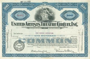 United Artists Theatre Circuit, Inc.