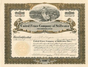 United Fence Company of Stillwater Incorporated
