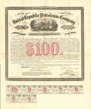 United Republic Petroleum Company - SOLD