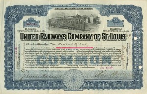 United Railways Company of St. Louis - SOLD