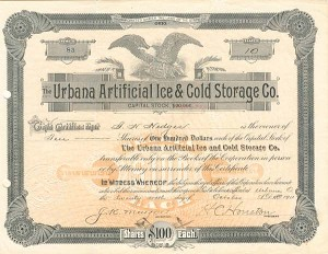 Urbana Artificial Ice & Cold Storage Co.