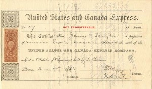 United States and Canada Express Co.